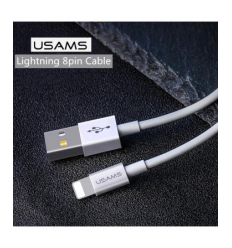 Cablu Date Usams Lightning US-SJ283 Iphone X, XR, XS, XS Max 1m Alb