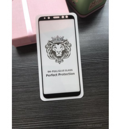 Geam Soc Protector Full LCD Lion Huawei P20 Pro Negru