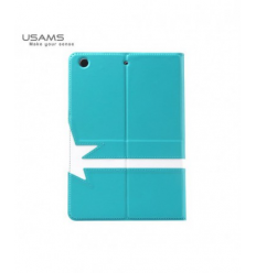 Husa Usams Star Series Apple Ipad Air Rotativa Albastra