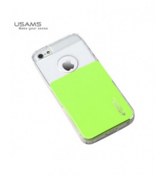 Husa Usams Smart Series Apple Iphone 5, 5S, 5SE Verde