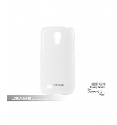 Husa Usams Candy Series Samsung Galaxy S4 Mini i9190 Alba