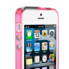 Bumper USAMS 2 in 1 Apple iPhone 5, 5S, 5SE Roz