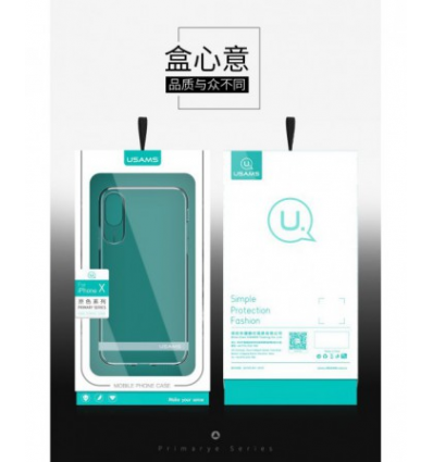 Husa Usams Primary Series Iphone XR Transparenta